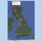 Route overview snapshot