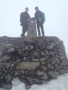With Rob on Ben Nevis