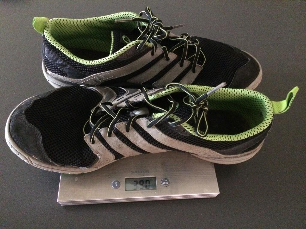 Merrill lightweight running shoes - featherweight at 390g